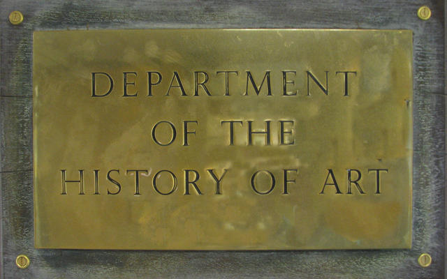 History of Art Plaque
