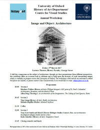 Picture of the Image and Object Programme PDF File